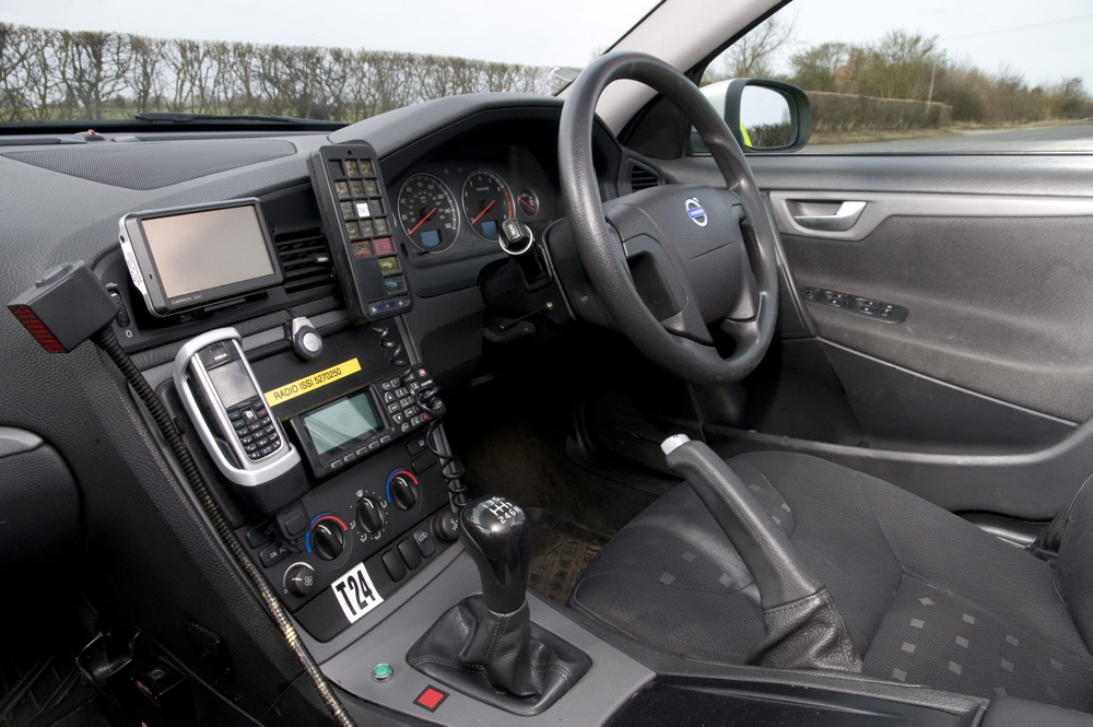 Response vehicle interior