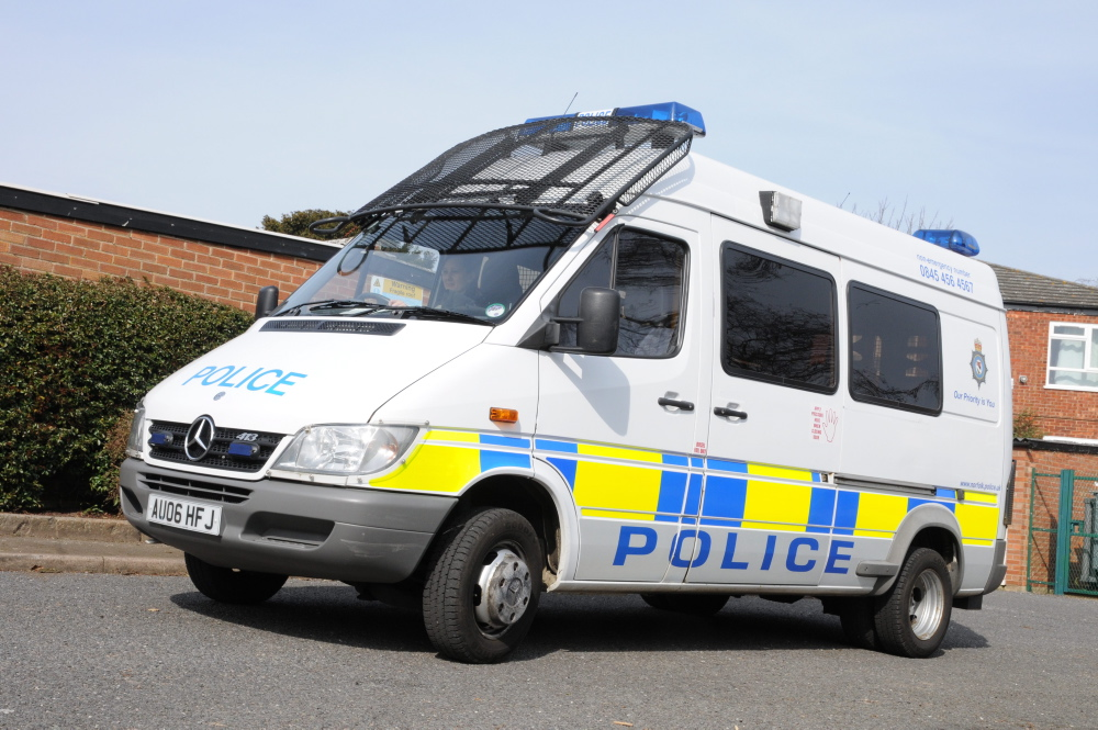 Police support vehicle