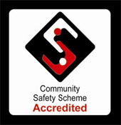 Community Safety Scheme Accredited logo