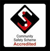 Community Safety Scheme Accredited logo