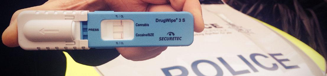 Roadside drug test