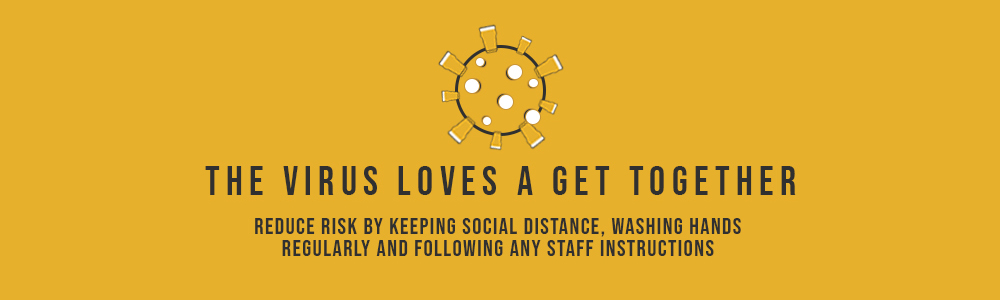 Maintain social distance if you're heading out
