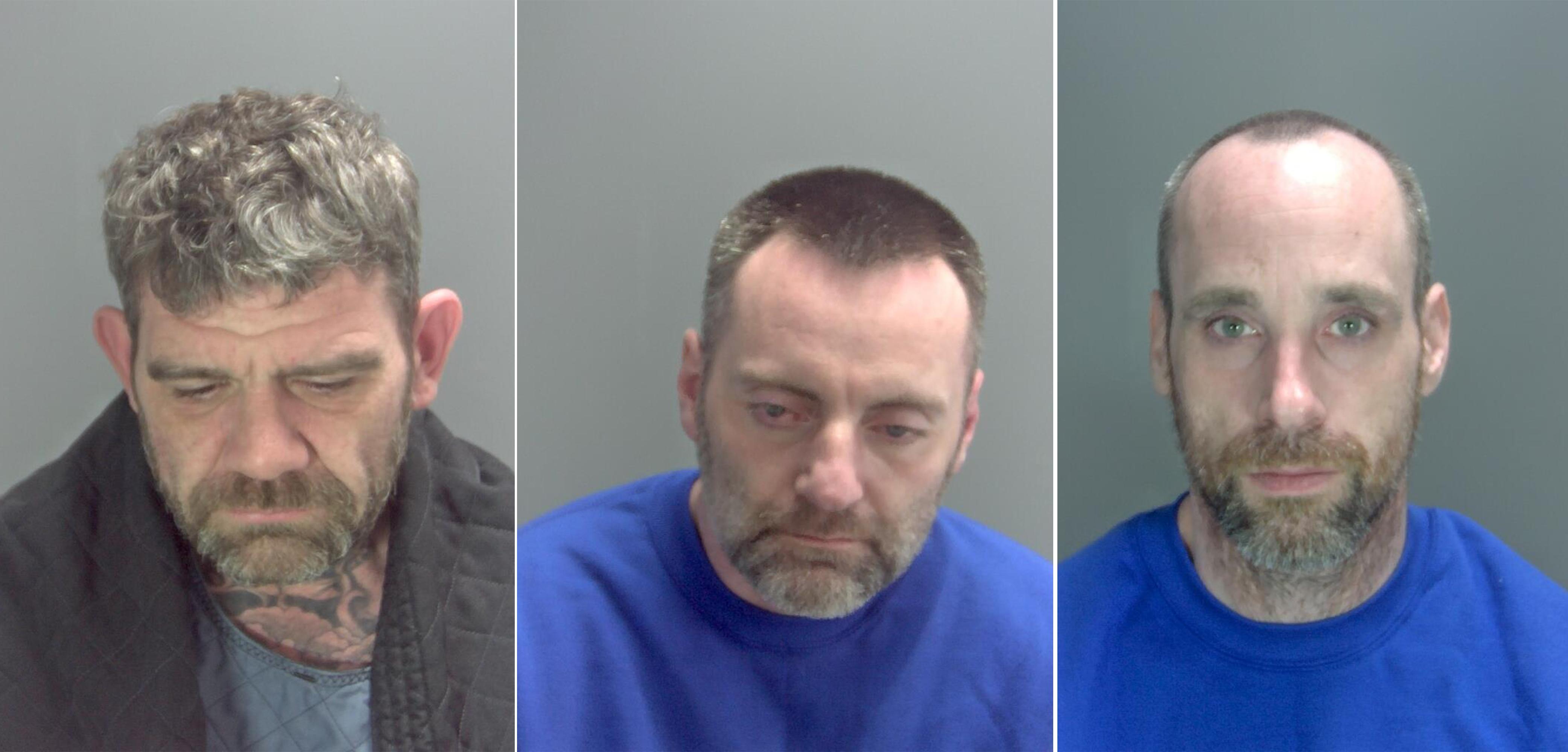 Men Jailed