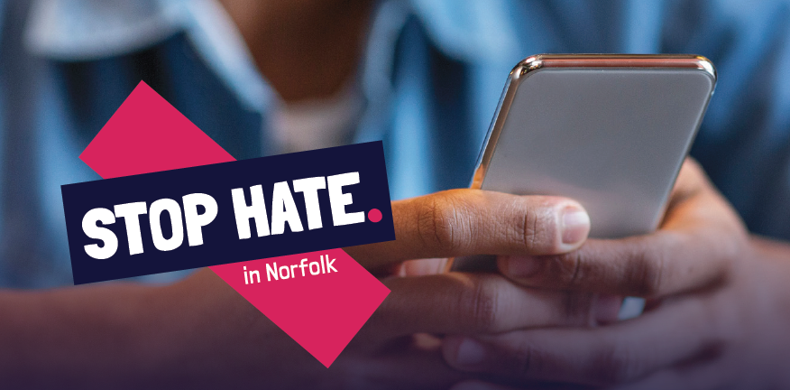 Stop Hate in Norfolk logo