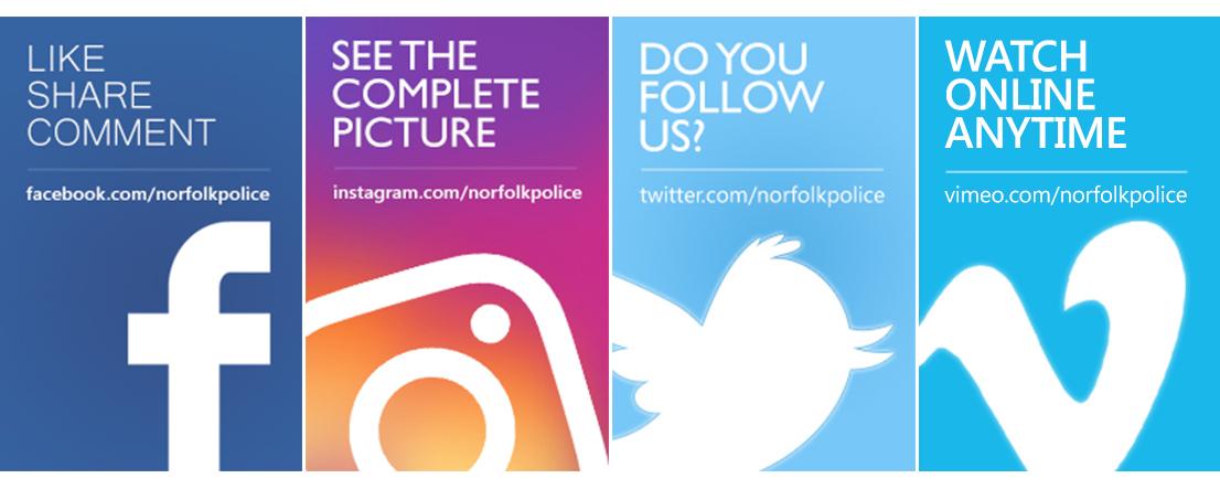 34eb416e282 Our Social Media   Norfolk Constabulary