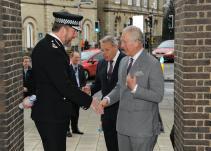 HRH The Prince of Wales visits Lynn